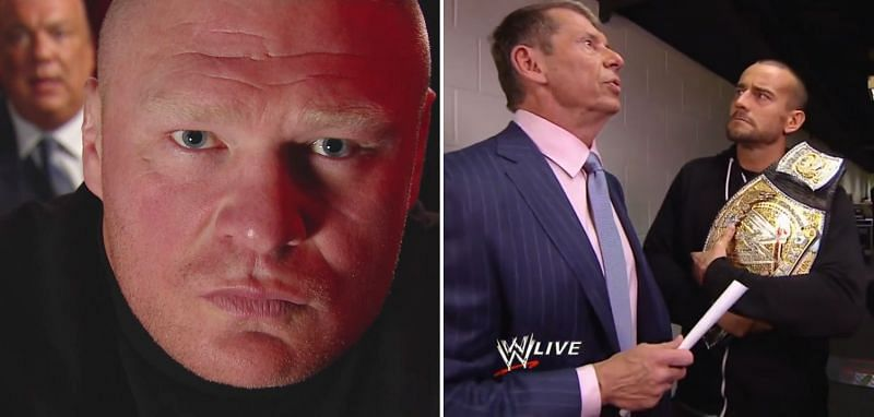 Brock Lesnar and CM Punk have both criticized Vince McMahon in the past