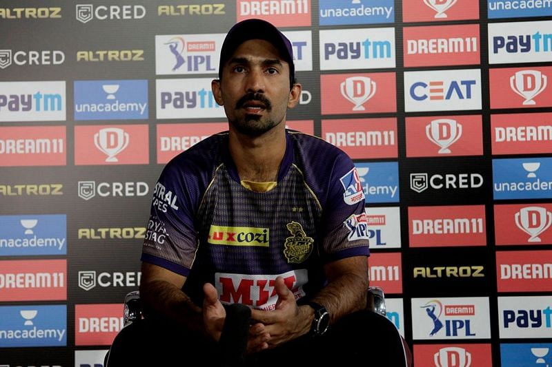 Dinesh Karthik has changed his look after a long time. (Image credits: IPLT20.com)