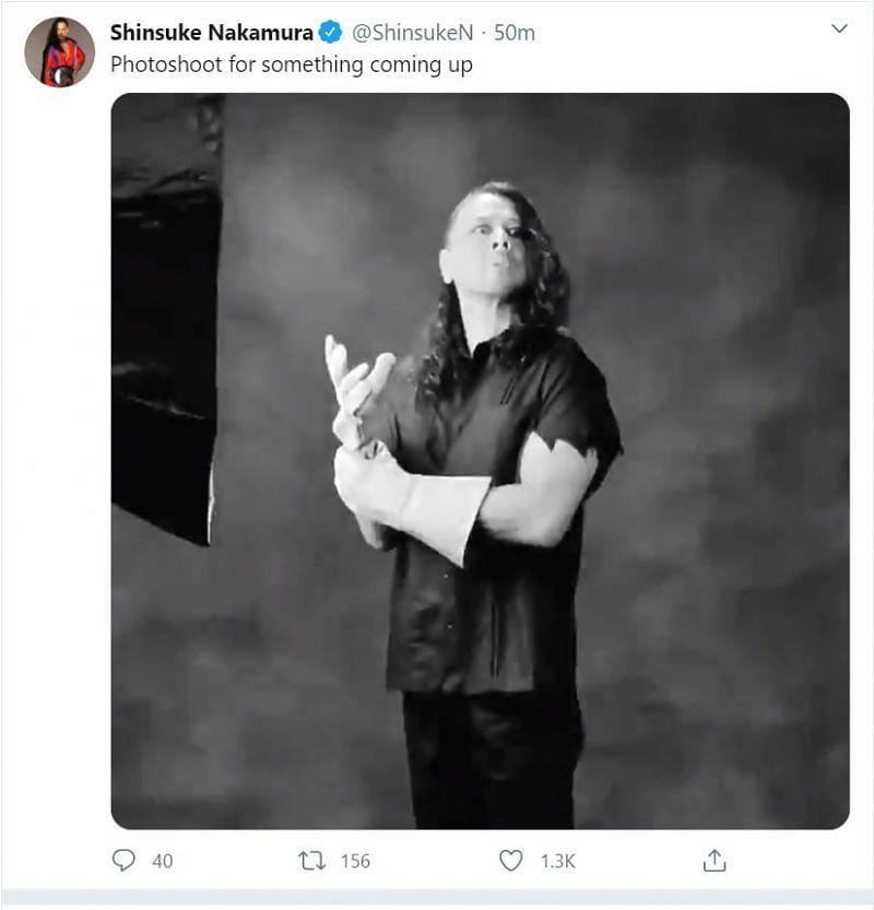 Shinsuke Nakamura as The Undertaker.