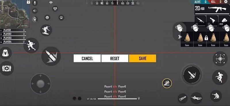Custom HUD (Image Credit: SK Sabir Gaming / YouTube)