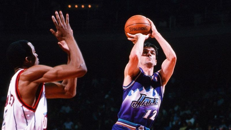 John Stockton was a sharpshooter, and not just a great passer.