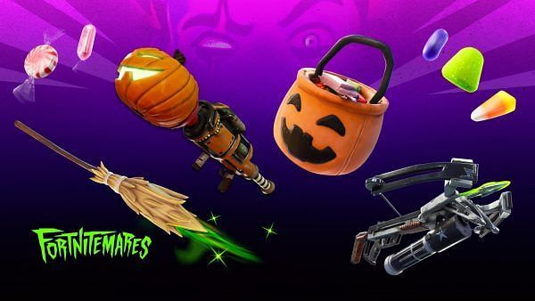 Fortnitemares have brought new candies and a shadowy twist to the BR game (Image credit: Epic Games)
