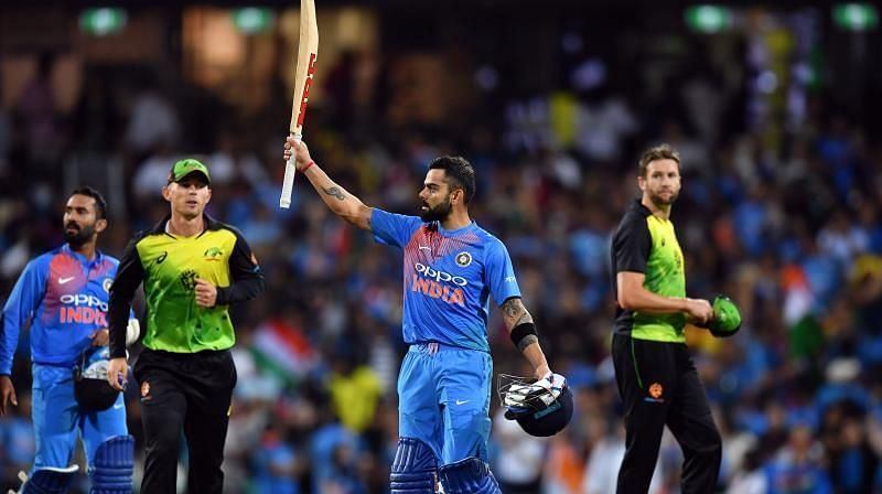 भारत और ऑस्ट्रेलिया के बीच दिसंबर माह में टी20 सीरीज खेली जाएगी