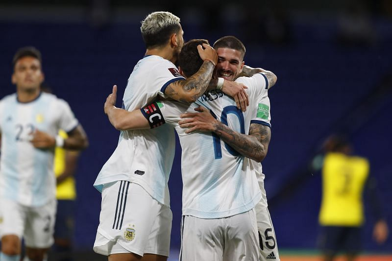 Argentina travel to Bolivia in their next - South American Qualifiers for Qatar 2022 fixture