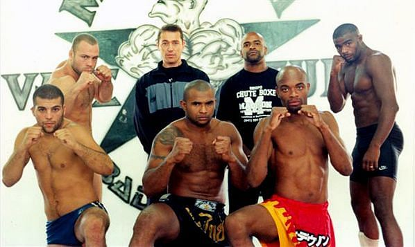 Anderson Silva was once part of the famed Chute Boxe academy alongside Wanderlei Silva