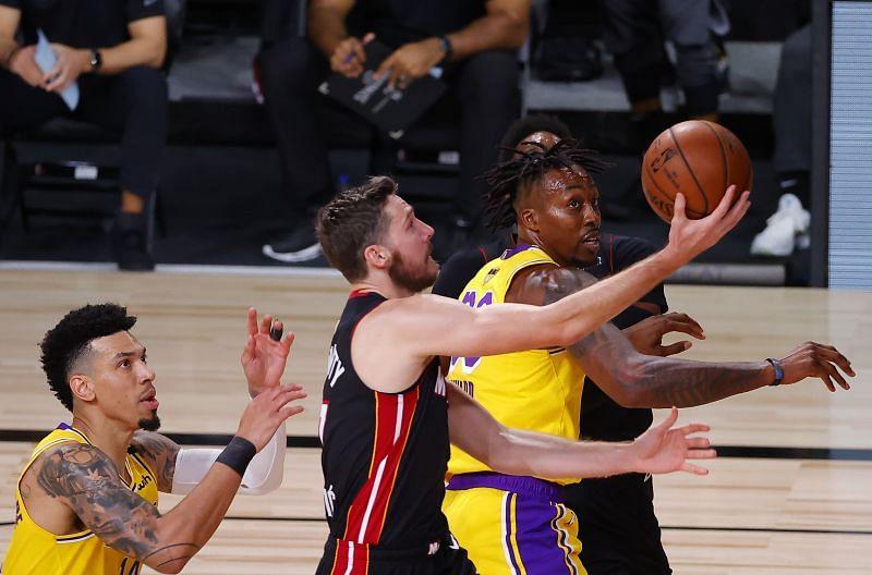Goran Dragic attacks the basket