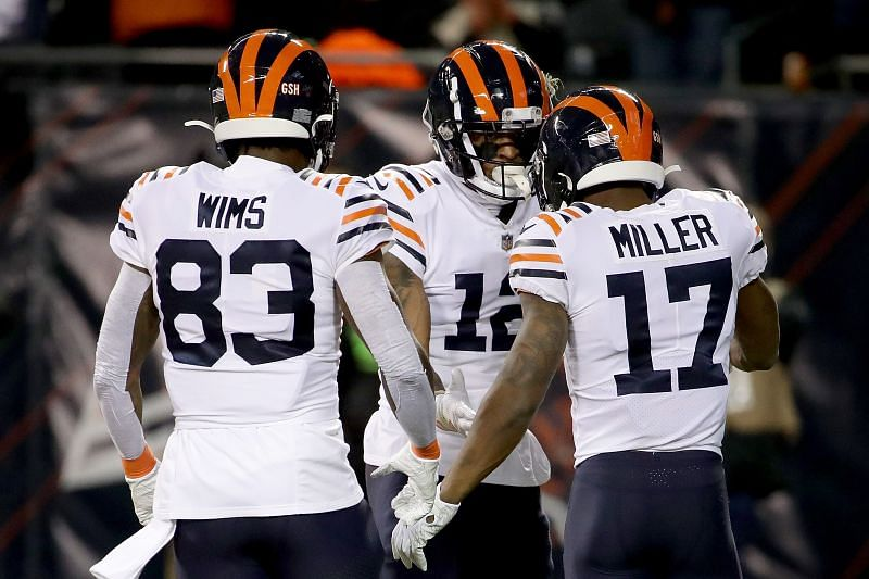 Allen Robinson (center) is an injury doubt for the Bears