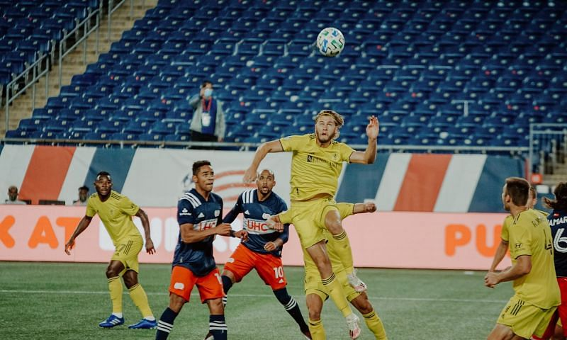 Nashville host New England Revolution in their upcoming MLS fixture