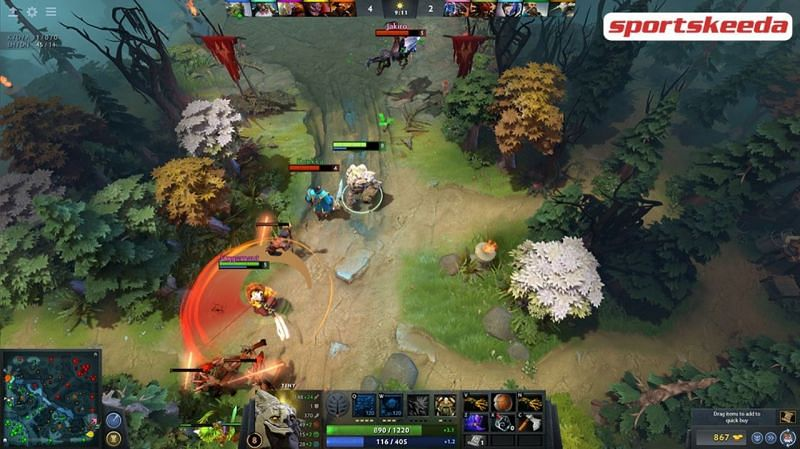 Dota 2 hits lowest player count since 2014