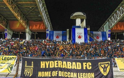 Hyderabad FC fans (Picture: ISL)