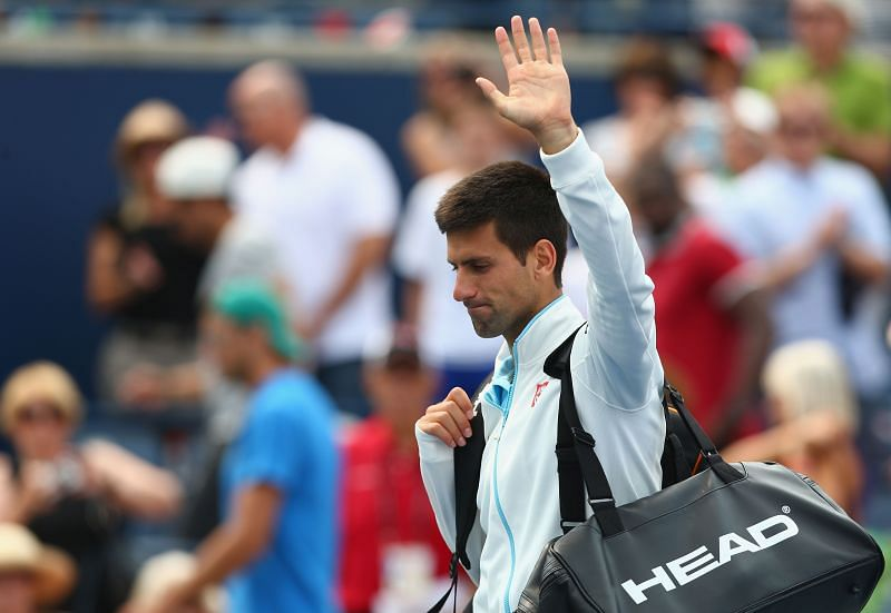 Novak Djokovic exited early at the 2014 Rogers Cup