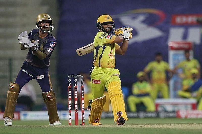 Kedar Jadhav has received a lot of flak for his slow batting for CSK against KKR [P/C: iplt20.com]