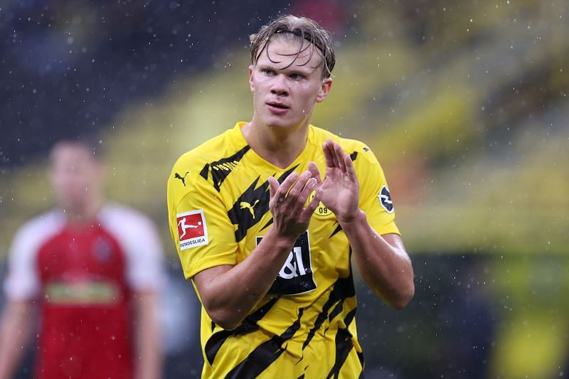 Borussia Dortmund Striker Erling Haaland Names Seven Strikers Better Than Him At The Moment