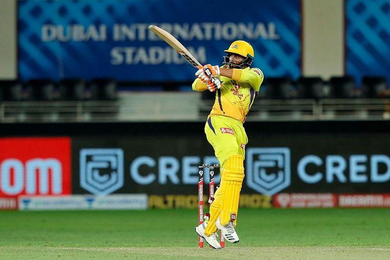 Ravindra Jadeja scored a fifty against SRH earlier in IPL 2020 (Image credits:IPLT20.com)