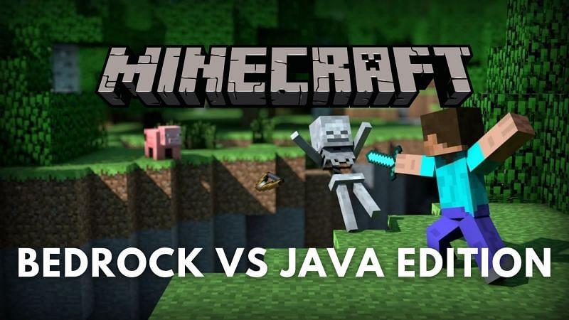 Minecraft Bedrock vs Java Edition