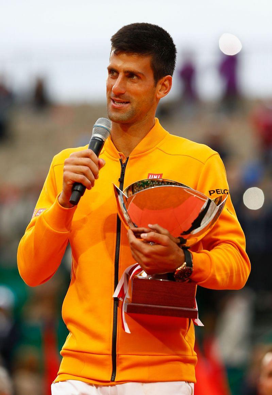 Novak Djokovic at the Monte Carlo Rolex Masters in April, 2015