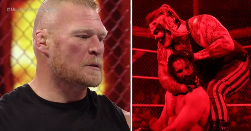 Brock Lesnar and The Fiend