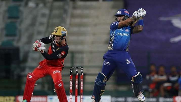 Suryakumar was on fire against RCB