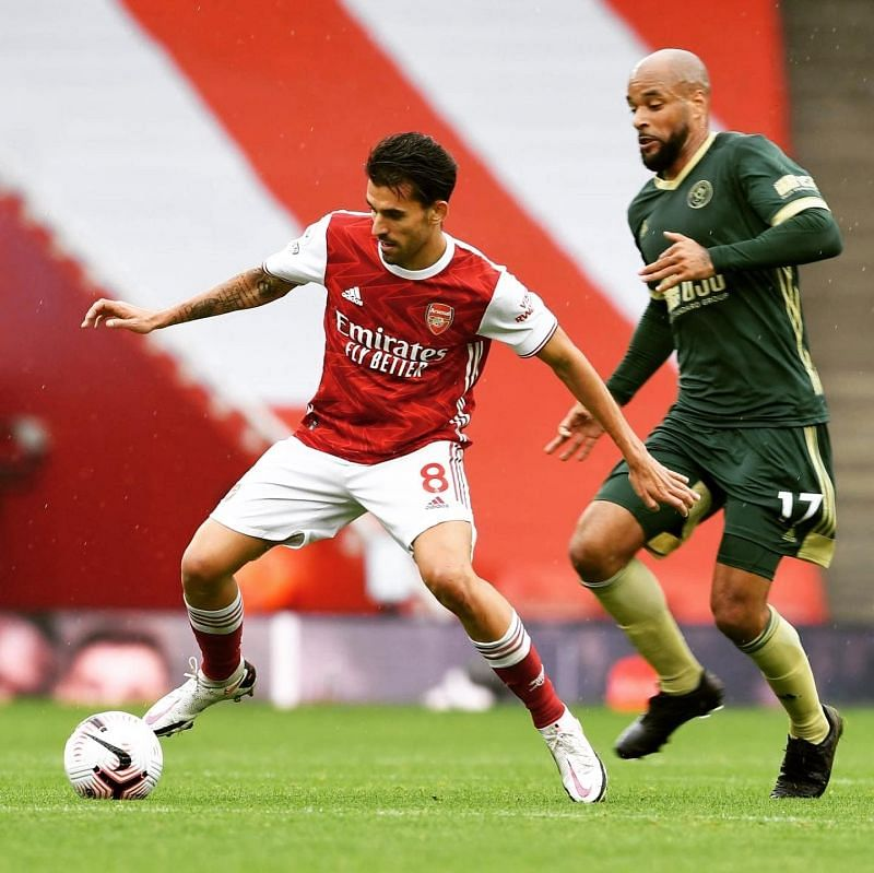 Arsenal recorded a 2-1 victory over Sheffield United on Sunday.