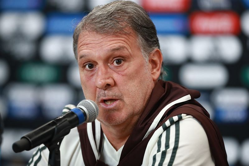Gerardo Martino was excited to see his players face the Netherlands