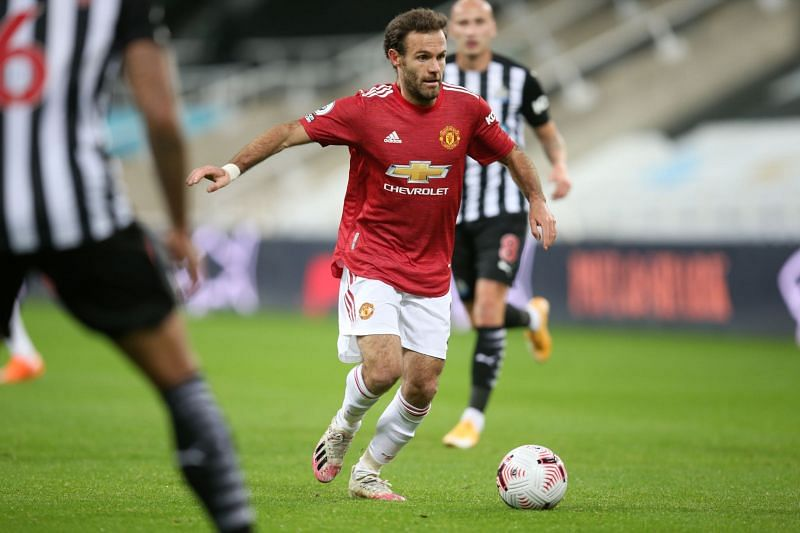 Juan Mata was in sensational form against Newcastle United