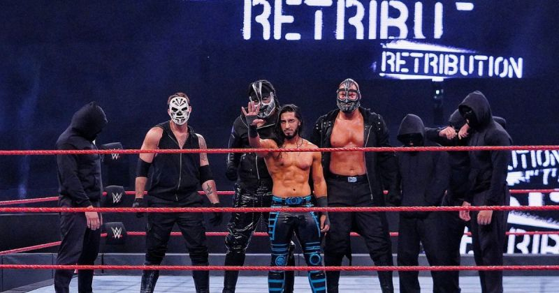 Mustafa Ali is the leader of RETRIBUTION.