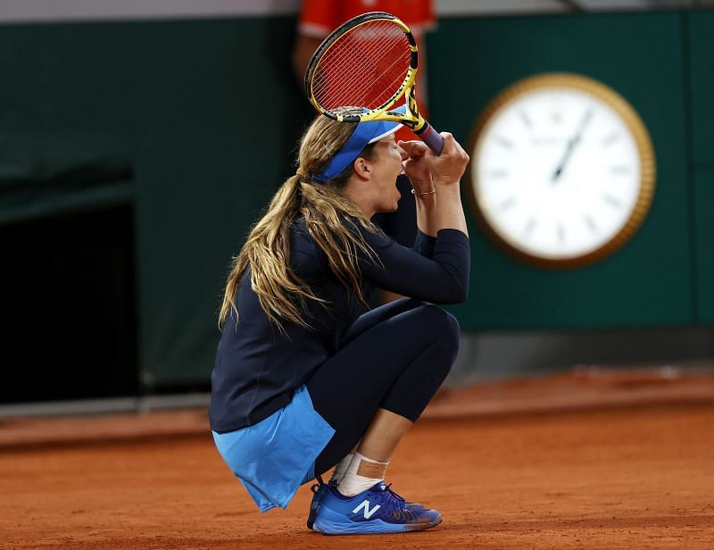 Danielle Collins at the 2020 French Open