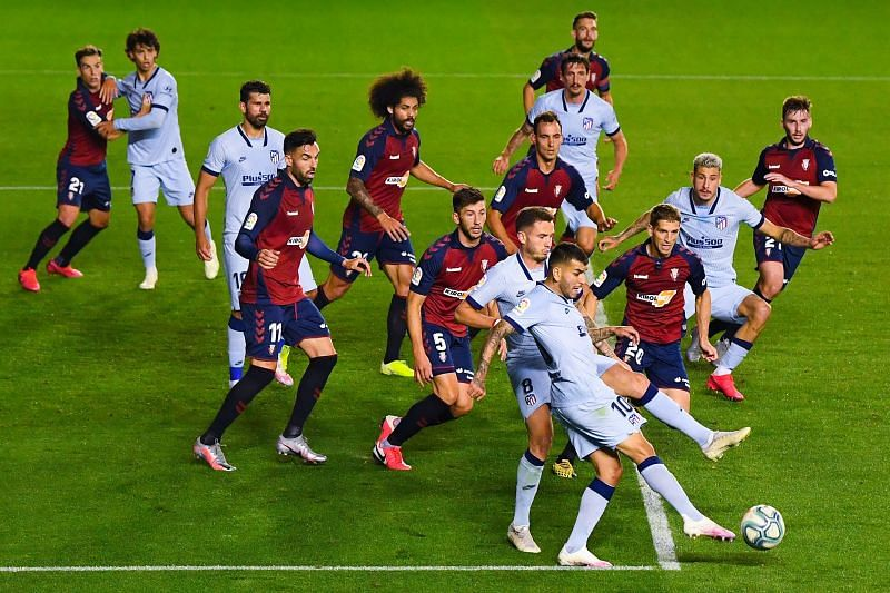 CA Osasuna  face Atletico Madrid this weekend in La Liga