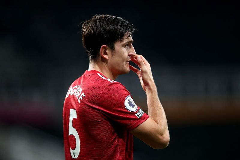 Captain Harry Maguire is set to miss out via injury