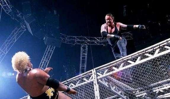 This is one of the most iconic moments in WWE history