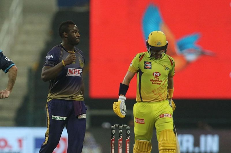 KKR stole the game from CSK