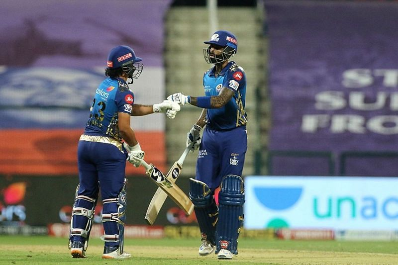 Will the MI duo of Ishan Kishan and Suryakumar Yadav continue their good work against DC?