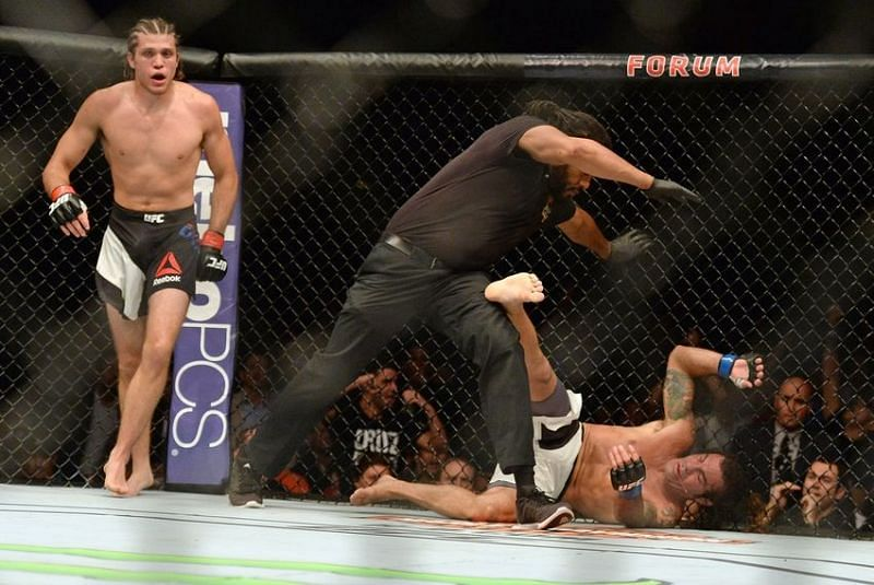 Ortega picked up his first UFC knockout against Clay Guida at UFC 199.