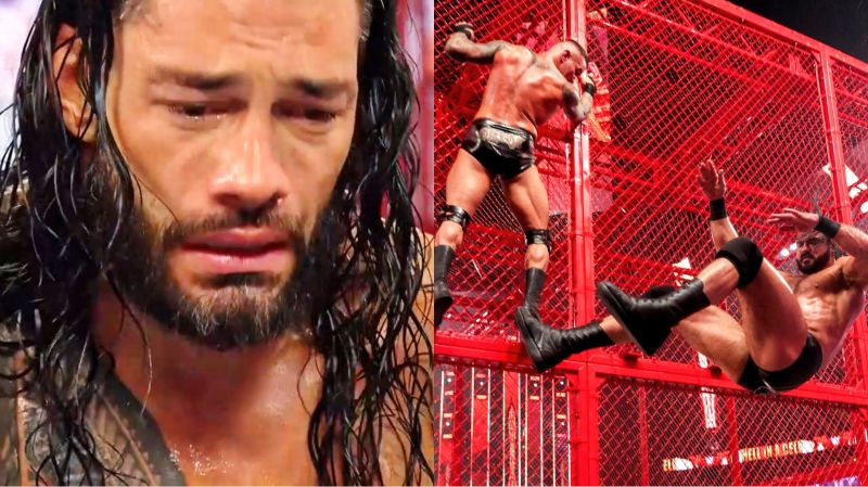 WWE Hell in a Cell 2020 consisted of big moments in the top titles scenario