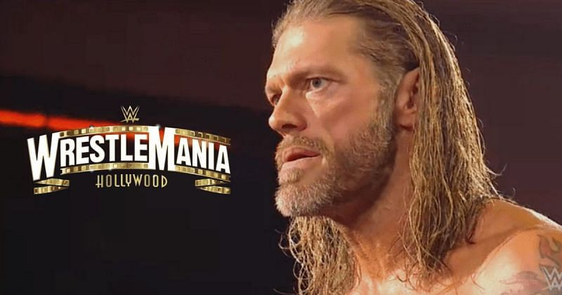 Edge has been in the plans for the WrestleMania 37 main event.