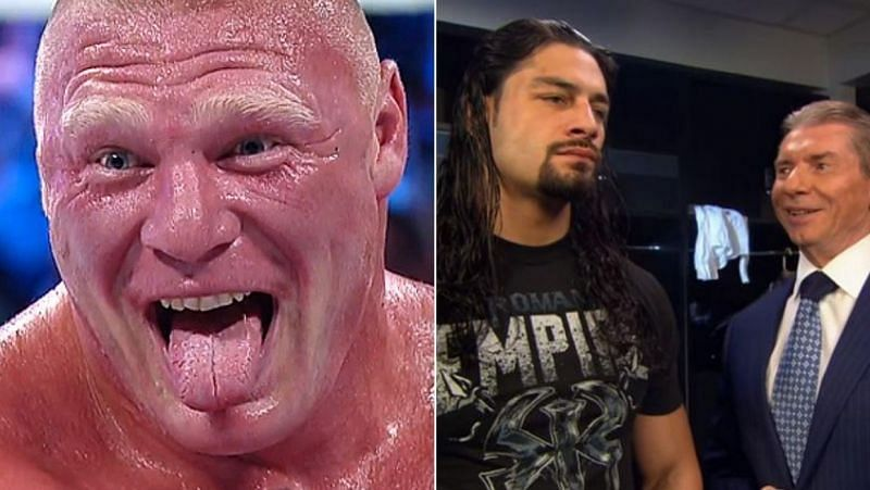 Lesnar/Reigns
