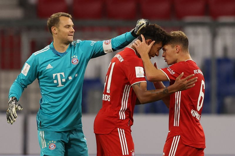 Manuel Neuer and Joshua Kimmich took home individual awards for their performances last seas