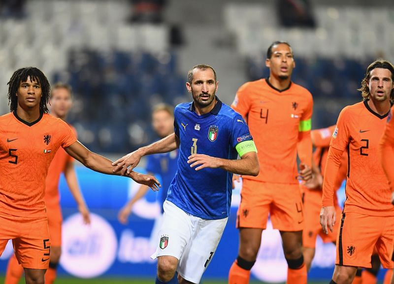 Italy and the Netherlands played out a draw