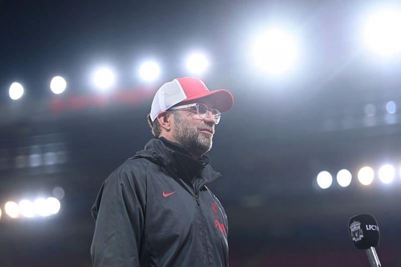 Jurgen Klopp as Liverpool manager
