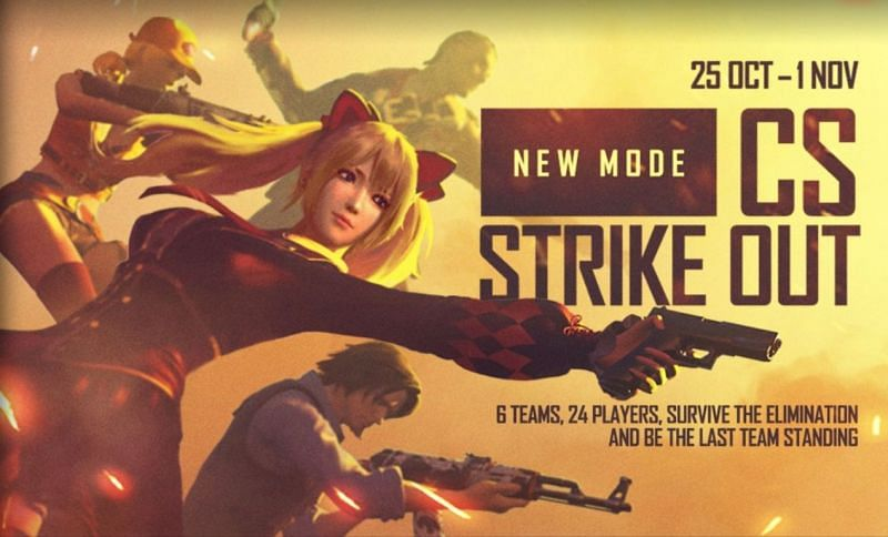 CS Strike Out Mode in Free Fire: All you need to know