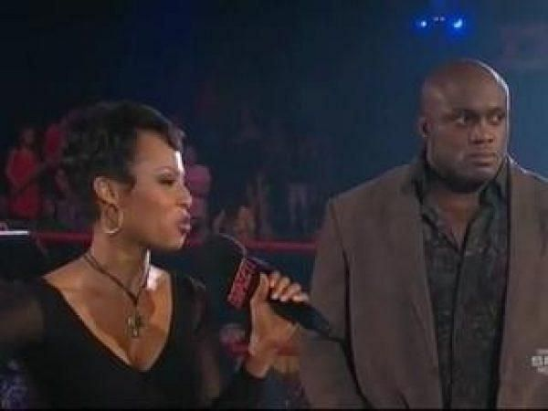 Kristal Marshall and Bobby Lashley were once engaged.
