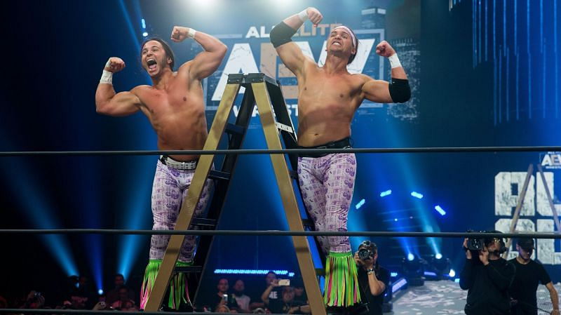 The Young Bucks are yet to make their mark in the AEW Tag Team division