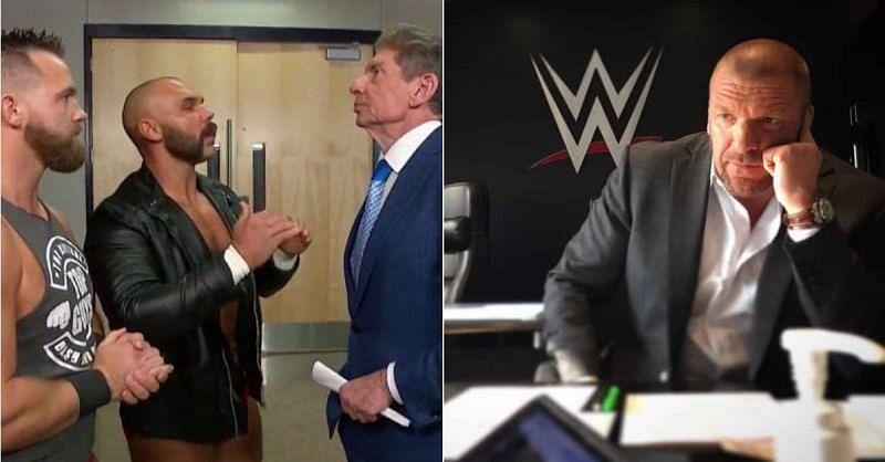 FTR with Vince McMahon; Triple H