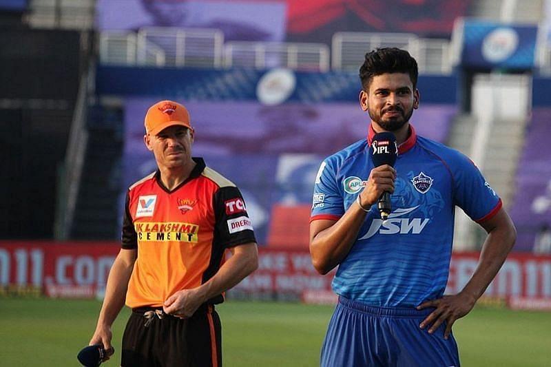Delhi Capitals vs Sunrisers Hyderabad. Pic: IPLT20.COM