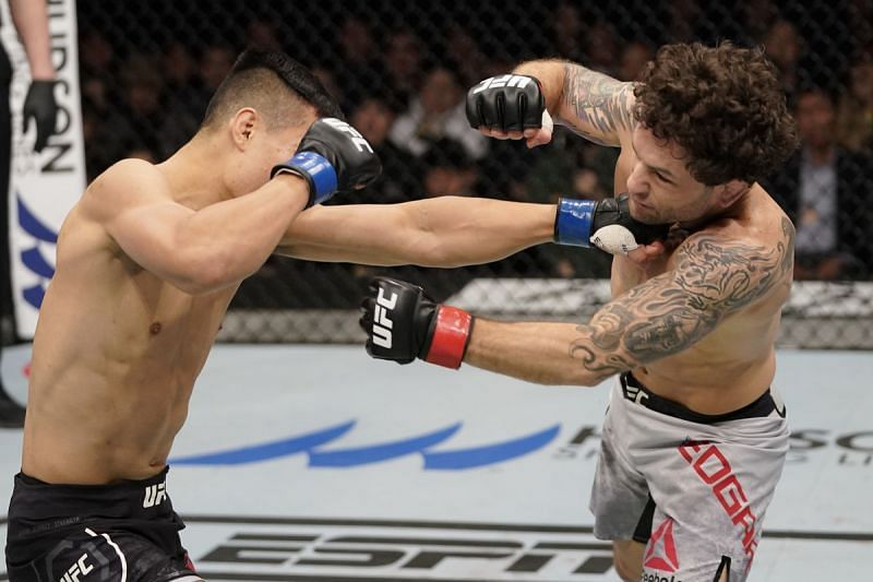 The Korean Zombie took little time in dispatching of Frankie Edgar in his home country