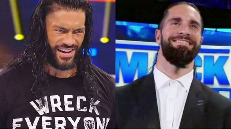 Seth Rollins was drafted to WWE SmackDown during the 2020 Draft