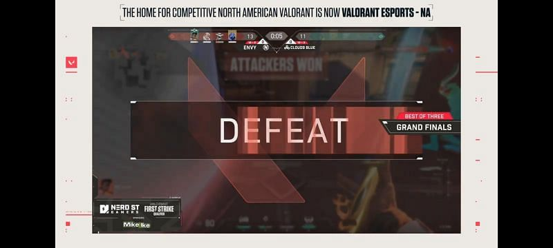 Valorant First Strike North America - NSG Tournament Finals - Cloud9 Blue beat Envy