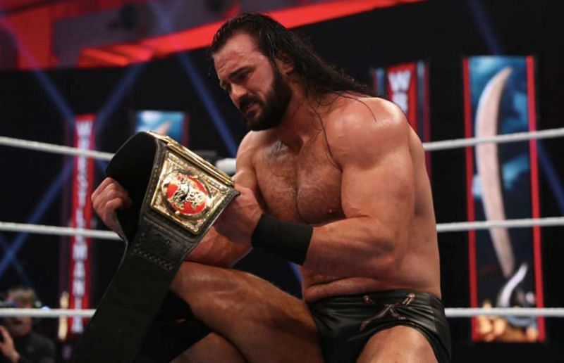 Drew McIntyre was WWE Champion for 202 days