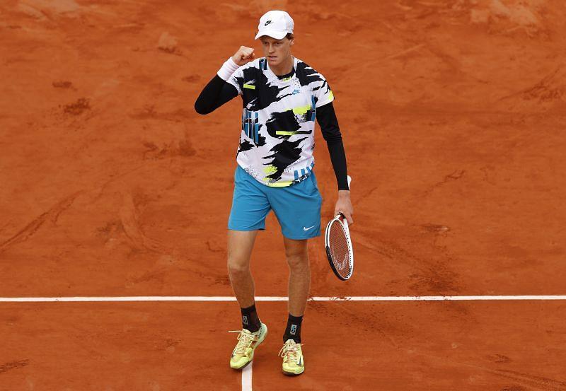 Jannik Sinner will play Rafael Nadal in the quarterfinals on Tuesday
