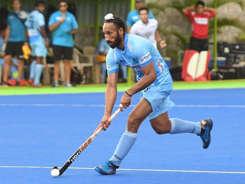 Sardar Singh represented Indian men